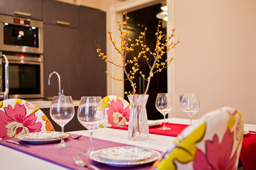 Сервированный стол / Decorated table