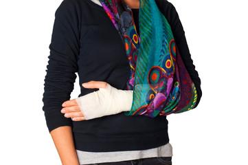 ho il braccio rotto