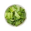 Romaine Lettuce Bowl isolated