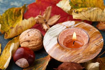 Herbstdeko aus der Natur