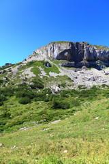 Erosion im Gebirge