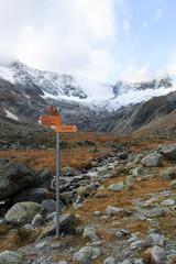 sentieri nell'alta valle di Goschenen - Svizzera