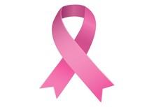 """Постер, картина, фотообои """"Breast cancer awareness ribbon"""""""