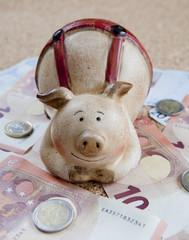 argent et tirelire économies