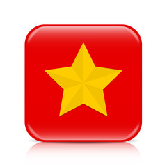 Red star button, icon 3