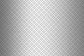 background of metal diamond plate