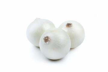 Three White Onions