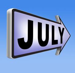 next july