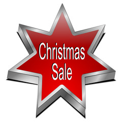 Christmas Sale star button