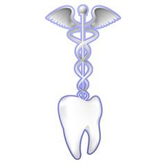 simbolo medicina e dente