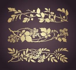 wedding card design, foliage ,nature,  India