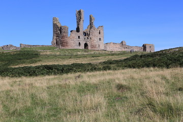 Dunstanburgh Castle, Northumberland, UK