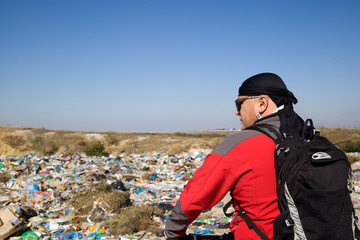 landfill of household waste threat to life