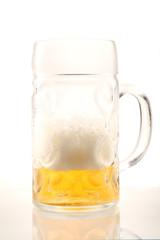 Bierkurg ist fast leer