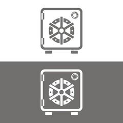 Icono caja fuerte
