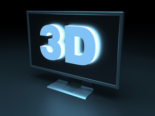 3d (three-dimensional) display