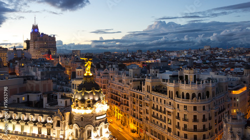 Foto Spatwand Madrid Madrid - Spain