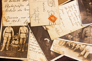 old photoes and postcards