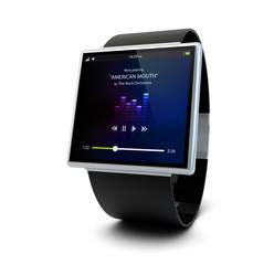 conceptual music smart watch