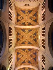 Boveda de la catedral de Lucca, Italia