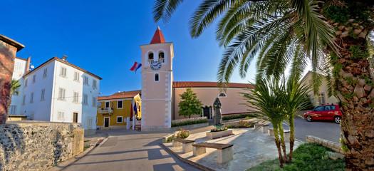 Diklo adriatic village panoramic view