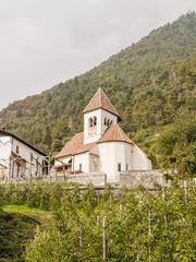 Meran, Sankt Peter, Kirche, Algunder Waalweg, Südtirol, Italien
