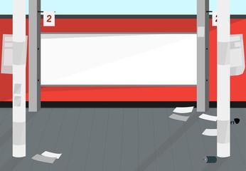 Copyspace sidewalk