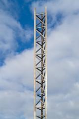High aluminum mast