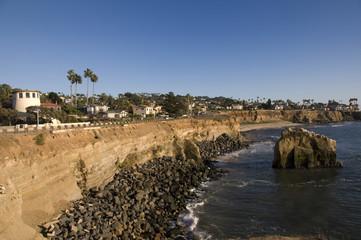 Scogliera a San Diego