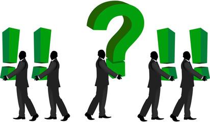 interrogazione e domanda