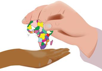 restituire continente africano