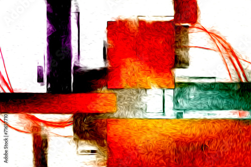 Abstract color design art © maxtor777