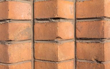 fragment of brickwork