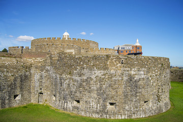 Walls of Deal castle