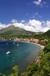 Leinwanddruck Bild - Ville de Saint Pierre - Martinique