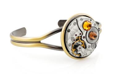 Steampunk handcrafted Bracelet
