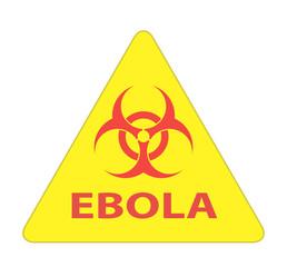 Ebola Biohazard virus danger sign