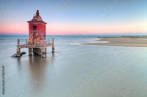 Fotobehang Vuurtoren / Mill Lighthouse