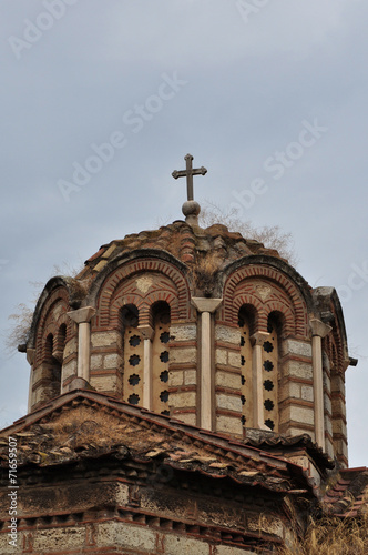 canvas print picture byzantine church dome
