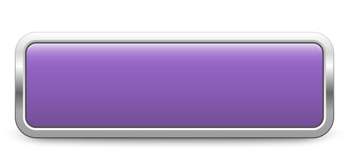 Long rectangular template - violet metallic button