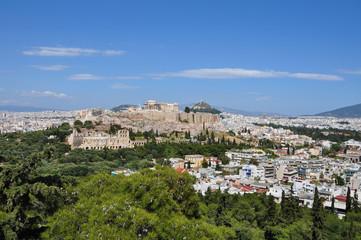 panoramic view athens greece