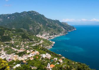Panorama of the Amalfi Coast