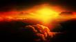 Obrazy na płótnie, fototapety, zdjęcia, fotoobrazy drukowane : Abstract clouds. Sunset.