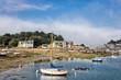 canvas print picture - Hafen in der Bretagne