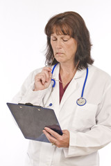 Doctor Studies Patient Notes