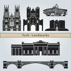 York landmarks and monuments