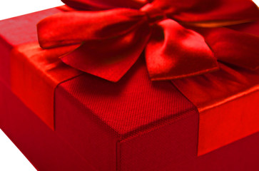 Gift Box of red color