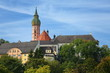 canvas print picture - Kloster Andechs
