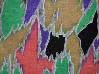 Abstract motif cloth