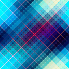 Blue abstract diagonal pattern.
